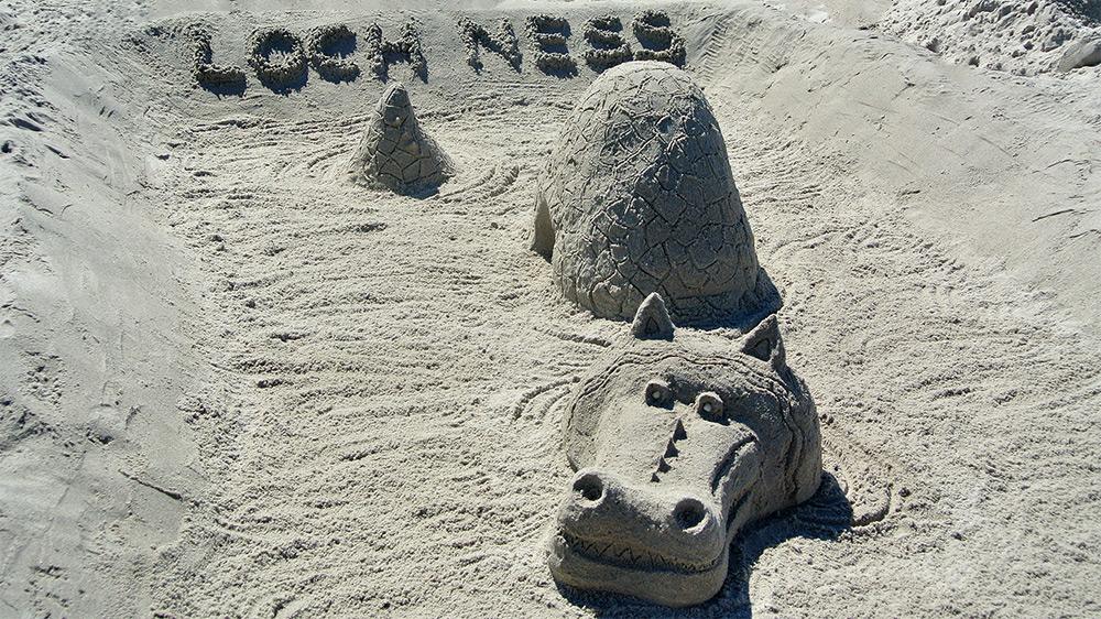 Sand-Kreationen