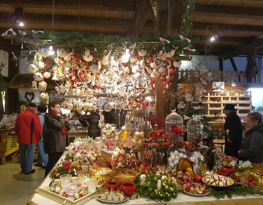 so muß ein Weihnachtsmarkt sein
